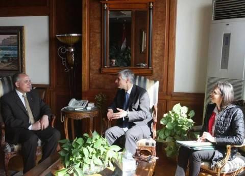 وزير الرى يناقش التحديات المائية مع نائب وزير الخارجية النمساوي