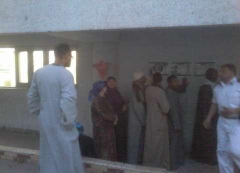 بدء توافد المواطنين على مدرسة أبو الهول القومية المشتركة بميدان الجيزة