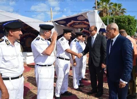 محافظ مطروح يهنئ مدير الأمن ورجال الشرطة بالعيد