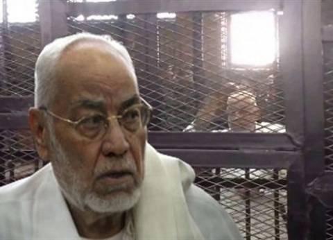 مصدر أمني: مهدي عاكف توفي داخل مستشفى قصر العيني الفرنساوي