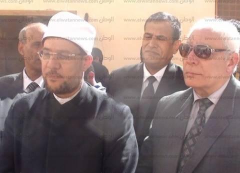 وزير الأوقاف يشهد توزيع لحوم الأضاحي لمواطني سانت كاترين جنوب سيناء