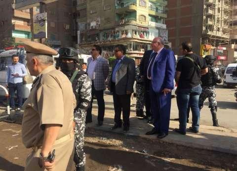 مدير أمن القليوبية يقود حملة أمنية مكبرة بشبرا الخيمة
