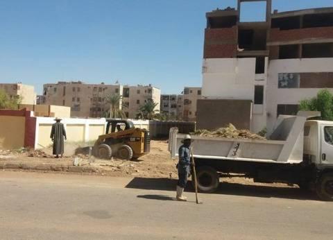 مركز الداخلة ينفذ حملة نظافة موسعة بمدينة موط
