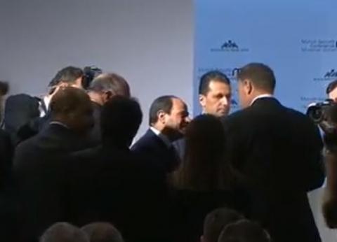 عاجل| السيسي يصل مقر انعقاد مؤتمر «ميونخ للأمن»