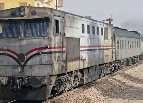 """""""السكة الحديد"""" تنفي نشوب حريق بقطار كفر الشيخ: """"مجرد دخان"""""""
