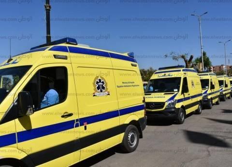 محافظ أسوان يوجه بتوزيع سيارات الإسعاف على المراكز