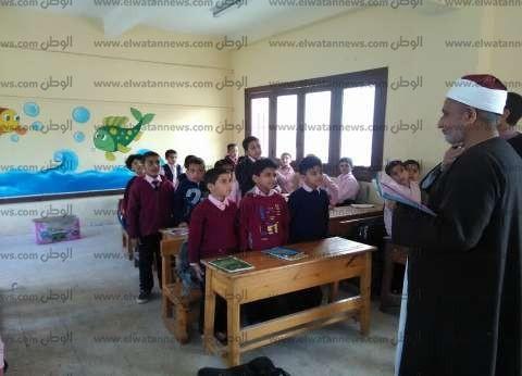 مدير منطقة مطروح الأزهرية يتفقد لجان الثانوية في الضبعة والحمام ومطروح