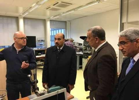رئيس جامعة الفيوم في زيارة علمية لجامعة ماري كوري الفرنسية
