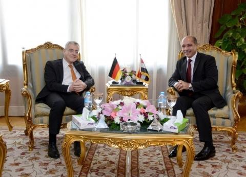 وزير الطيران يستقبل سفير ألمانيا لمناقشة تطوير اتفاقية النقل الجوي