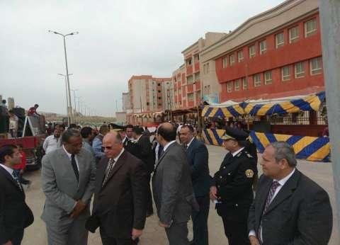 مدير أمن القاهرة يتفقد خدمات تأمين الانتخابات في حي الأسمرات والمرج
