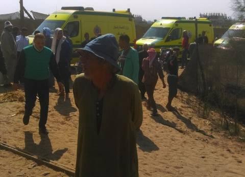 شاهد عيان: اصطدم قطاري البحيرة عند التحويلة.. والأهالي أسعفوا المصابين