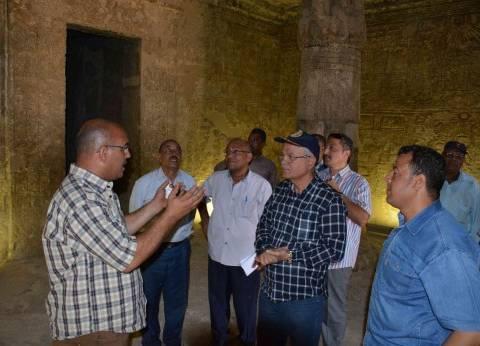 محافظ المنيا يشدد على ضرورة الاهتمام بأعمال النظافة بالمواقع الأثرية