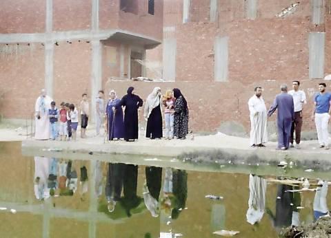 بحيرة بالضفادع والناموس تحاصر «صلاح الدين».. ومسئول بالصرف الصحى: «المواسير هى السبب»
