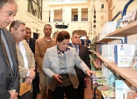 افتتاح معرض الثقافة الجماهيرية الأول للكتاب بدمنهور