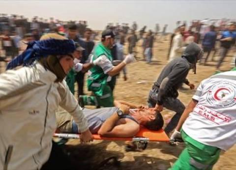 """وكالة """"معا"""": 701 فلسطيني أصيبوا في جمعة """"حرق علم إسرائيل"""""""