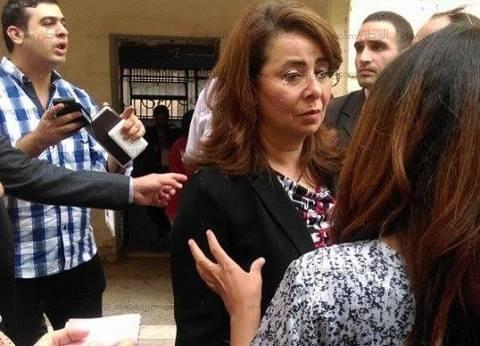 وزيرة التضامن الاجتماعي تدلي بصوتها في مدرسة الأورمان بالدقي