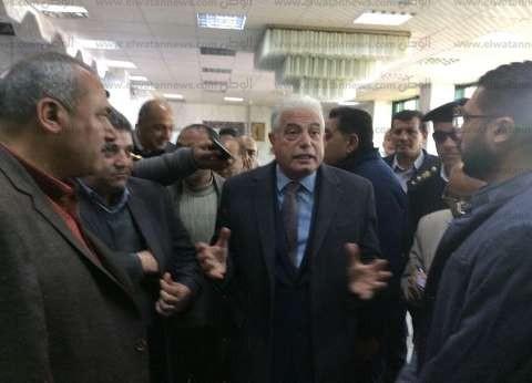 محافظ جنوب سيناء يتفقد مستشفى رأس سدر العام