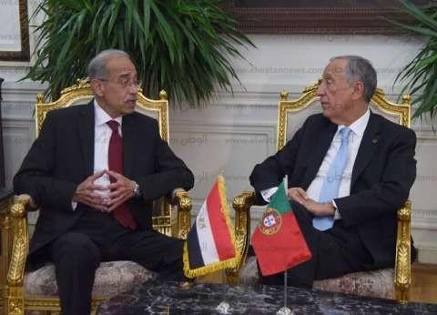 شريف إسماعيل يدعو البرتغال لمشاركة مصر في مرحلة التنمية
