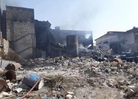إخلاء سبيل صاحب مصنع البويات المحترق بالإسكندرية