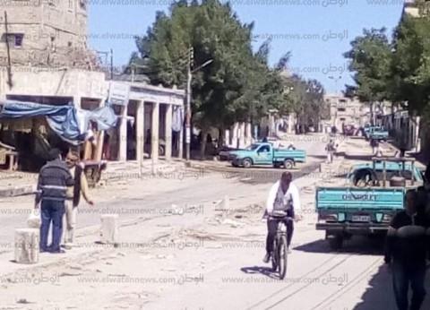شوشة يطالب بسرعة فتح المحلات بسوق الشيخ زويد.. نحارب الإرهاب بالتعمير