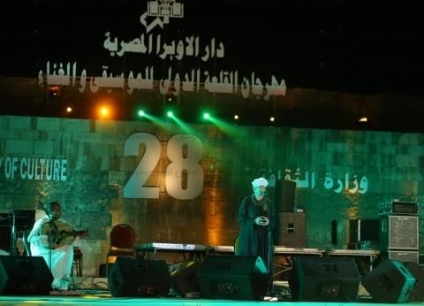 هشام عباس والتهامي يشعلان الليلة الثامنة من مهرجان القلعة للموسيقي