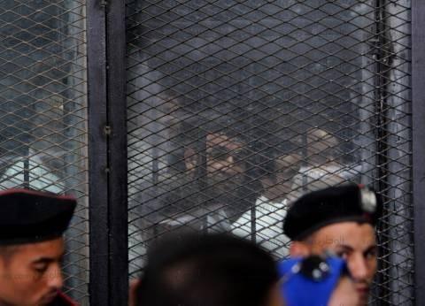 """وصول المتهمين في """"فض رابعة"""" لمعهد أمناء الشرطة"""