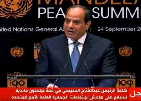 السيسي يلتقي رئيسة وزراء النرويج.. وتؤكد: نتطلع لتعزيز العلاقات مع مصر