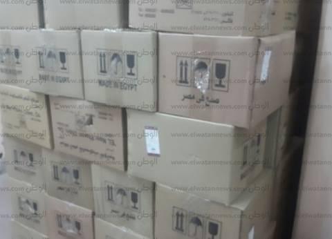 ضبط مخزن لتخزين المحاليل الطبية وحجبها عن الأسواق بالقليوبية