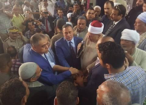 """الصلح بين عائلتي """"المعابدة وعبدالعال"""" إثر خصومة قتل فيها 7 بسوهاج"""