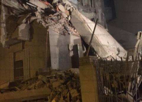 عاجل| انهيار عقار مكون من 6 طوابق في أسوان وسقوط مصابين