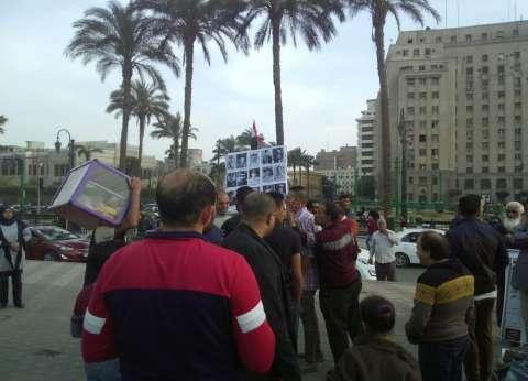 بالصور| احتفالات بفوز السيسي بفترة رئاسية ثانية في ميدان التحرير