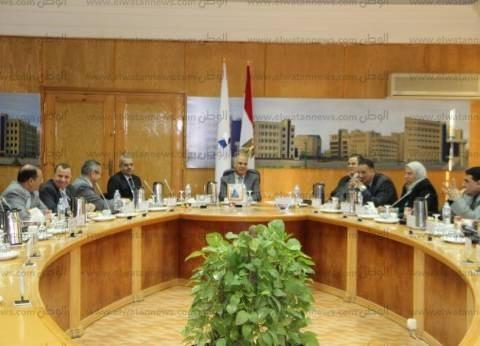 رئيس جامعة كفرالشيخ يطالب بتعزيز المشاركة المجتمعية ومراعاة الجودة