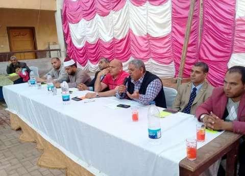 مؤتمرات جماهيرية لدعم السيسي في المنيا
