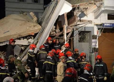 مصرع شخصين وإصابة 3 آخرين إثر انهيار منزل في المنصورة