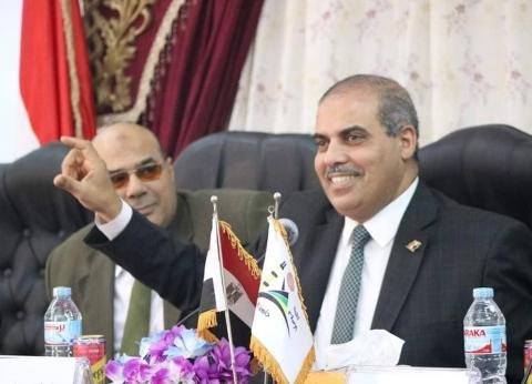 رئيس جامعة الأزهر يهنئ أبو السرور ومخيمر لفوزهما بجائزتي النيل والتفوق