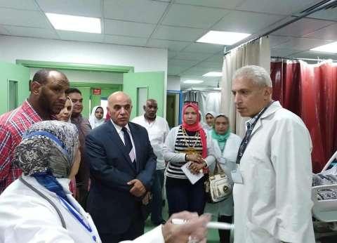 """وكيل """"صحة الإسكندرية"""" يطالب بإنهاء قوائم انتظار المرضى"""