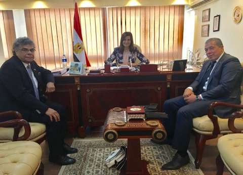وزيرة الهجرة تستقبل ممثلي الجالية المصرية بألمانيا وفرنسا
