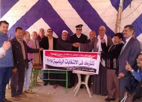 بعد قليل.. وزير التنمية المحلية يتفقد اللجان الانتخابية بالجيزة