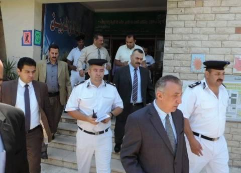 مدير أمن الإسكندرية يتفقد الأقوال الأمنية بأقسام الشرطة