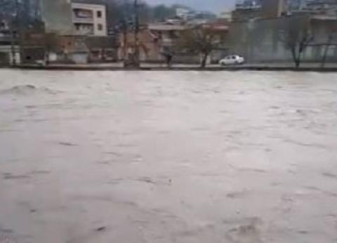 احتجاجات في إيران على سوء إدارة الحكومة لأزمة السيول