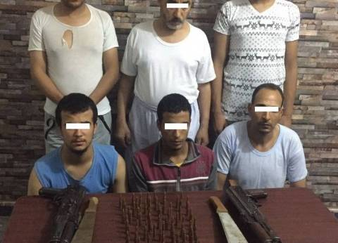 ضبط 6 أشخاص خططوا لجريمة قتل في خصومة ثأرية بمحكمة المنشأة بسوهاج