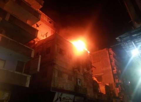 السيطرة على حريق بشقة سكنية دون إصابات بالفيوم