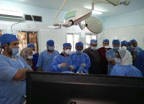 إجراء 44 عملية بمستشفى السعديين للانتهاء من قوائم الانتظار بالشرقية