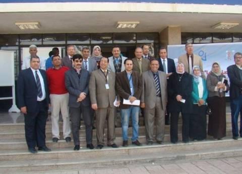 افتتاح معرض الابتكار وريادة الأعمال بجامعة المنيا