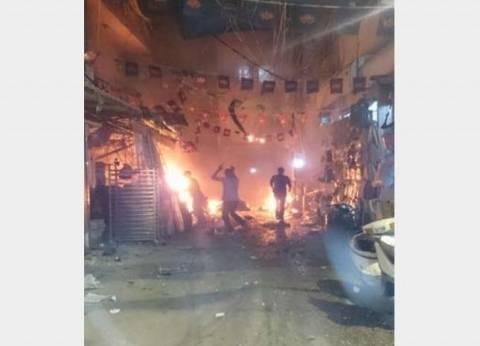 """""""المنار"""" اللبنانية: نقل جثامين 10 قتلى إلى مستشفيي """"بهمن"""" و""""الساحل"""""""