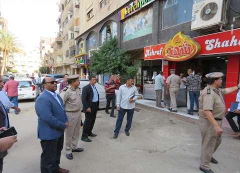 تحرير 654 مخالفة مرافق وإشغالات و56 قضية تموينية في حملة الغربية