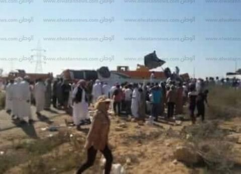 إصابة طفلة صدمها موتوسيكل بحي الزهراء في طور سيناء