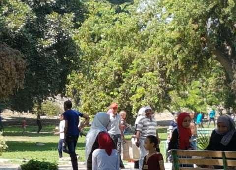 """النيل والمتنزهات """"فسحة ببلاش"""" آخر أيام العيد بالقناطر"""
