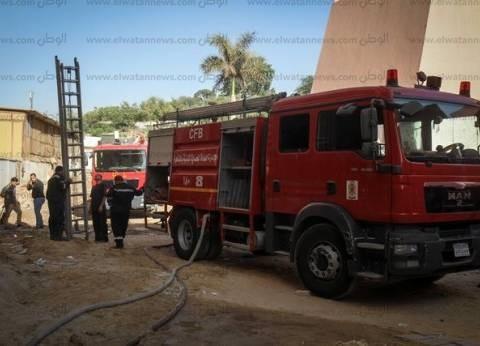 السيطرة على حريق وحدة سكنية بمدينة الحرية في السويس