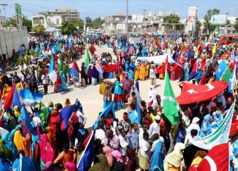 تظاهرة حاشدة بالصومال احتفالا بفشل الانقلاب في تركيا
